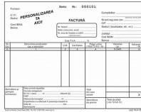 Tipizate personalizate pentru facturi chitantiere avize bonuri de consum bonuri de comanda CMR-uri NOBILA CASA PAPER