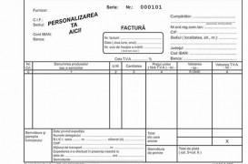 Tipizate personalizate pentru facturi, chitantiere, avize, bonuri de consum, bonuri de comanda, CMR-uri NOBILA CASA PAPER