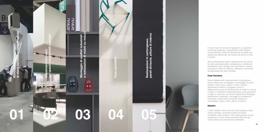 Pagina 2 - Prezentarea companiei  Catalog, brosura Italiana