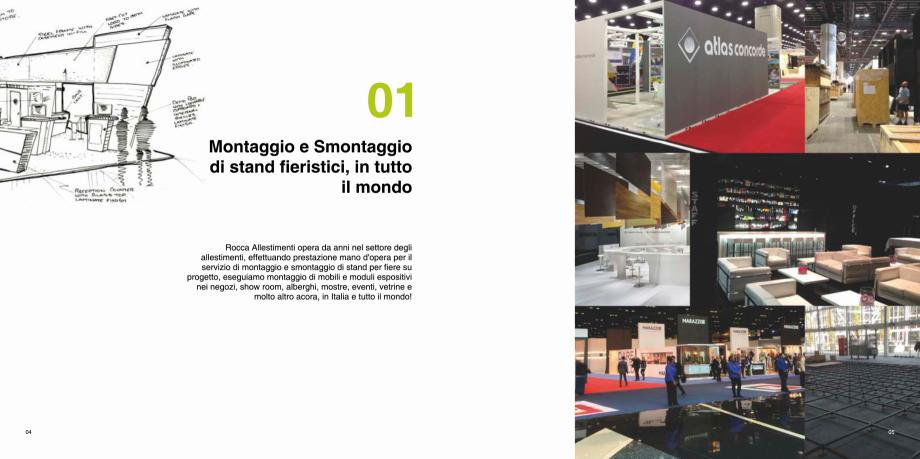 Pagina 3 - Prezentarea companiei  Catalog, brosura Italiana