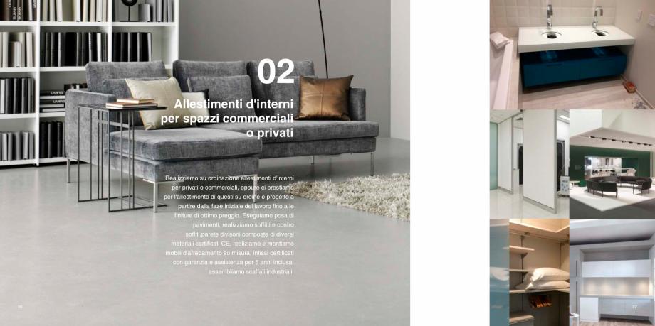 Pagina 4 - Prezentarea companiei  Catalog, brosura Italiana