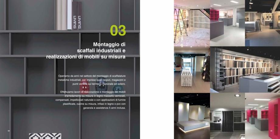 Pagina 5 - Prezentarea companiei  Catalog, brosura Italiana