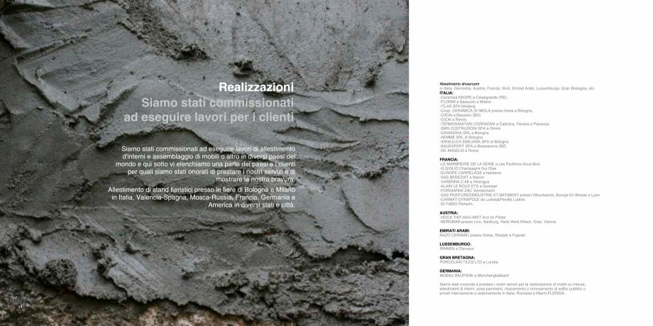 Pagina 8 - Prezentarea companiei  Catalog, brosura Italiana