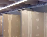 Executie pereti si tavane din gips-carton Rocca Allestimenti realizeaza lucrari din rigips cum ar fi pereti