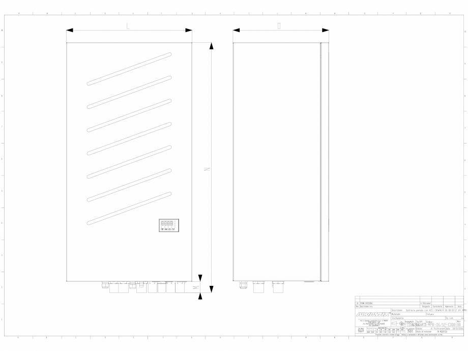 Pagina 1 - CAD-DWG Chillere 6-8-10-12 kW in varianta splitata impreuna cu modulul de producere...