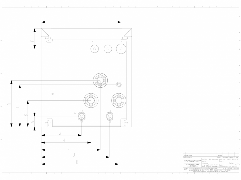 Pagina 1 - CAD-DWG Chiller  12-16 kW in varianta splitata impreuna cu modulul de producere instant a...