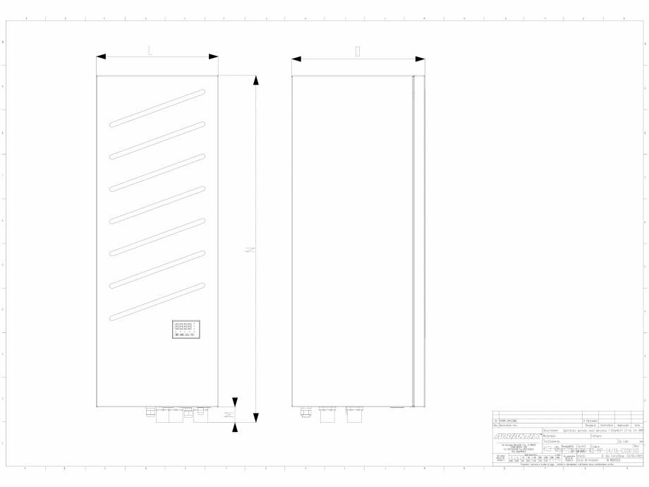 Pagina 1 - CAD-DWG Chiller 12-16 kW in varianta splitata impreuna cu modulul de producere instant a ...