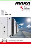 Specificatii tehnice pentru chillere scroll compacte MAXA - compacte HWA1-A