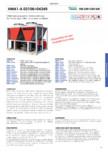 Specificatii tehnice pentru chillerul racit cu aer MAXA - HWA1-A