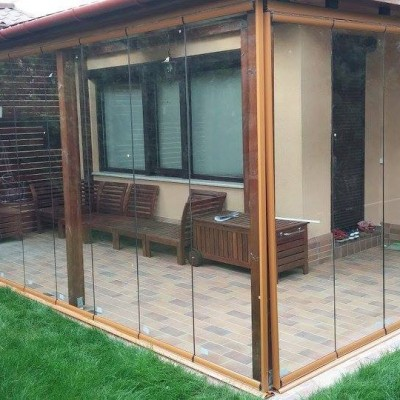 Panoramika Exemplificare a utilizarii sistemului glisant sticla - Sisteme glisante sticla pentru inchideri terase si balcoane