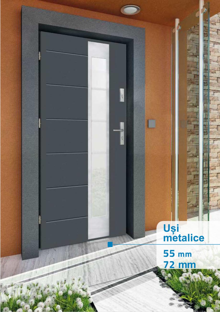 Pagina 9 - Catalog usi metalice pentru exterior Panoramika Mastertherm, 55  mm, 72 mm, 55 mm dubla, ...