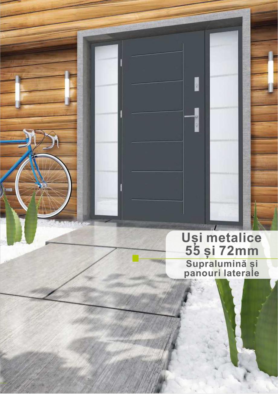 Pagina 42 - Catalog usi metalice pentru exterior Panoramika Mastertherm, 55  mm, 72 mm, 55 mm dubla,...