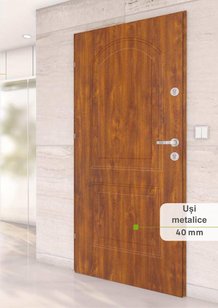 Pagina 58 - Catalog usi metalice pentru exterior Panoramika Mastertherm, 55  mm, 72 mm, 55 mm dubla,...