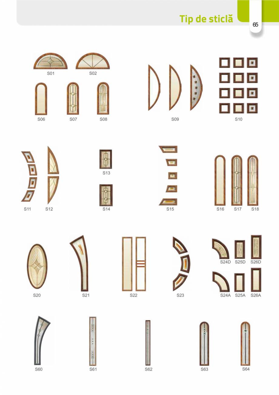 Pagina 64 - Catalog usi metalice pentru exterior Panoramika Mastertherm, 55  mm, 72 mm, 55 mm dubla,...