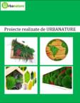 Proiecte realizate de URBANATURE - Tablouri cu licheni și muschi decorativi Urbanature