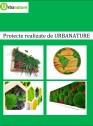 Proiecte realizate de URBANATURE - Tablouri cu licheni și muschi decorativi