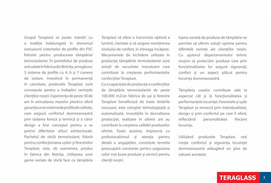 Pagina 5 - Ferestre si usi din PVC  Catalog, brosura Romana LASS  5  IDEAL PENTRU ECONOMISIREA...
