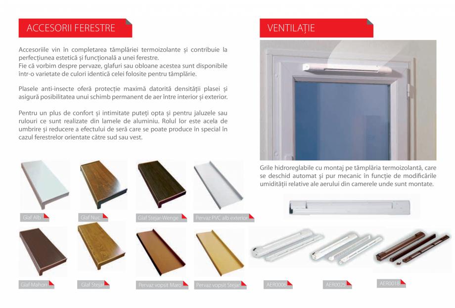 Pagina 20 - Ferestre si usi din PVC  Catalog, brosura Romana