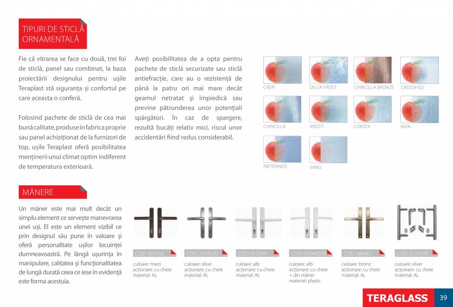 Pagina 41 - Ferestre si usi din PVC  Catalog, brosura Romana