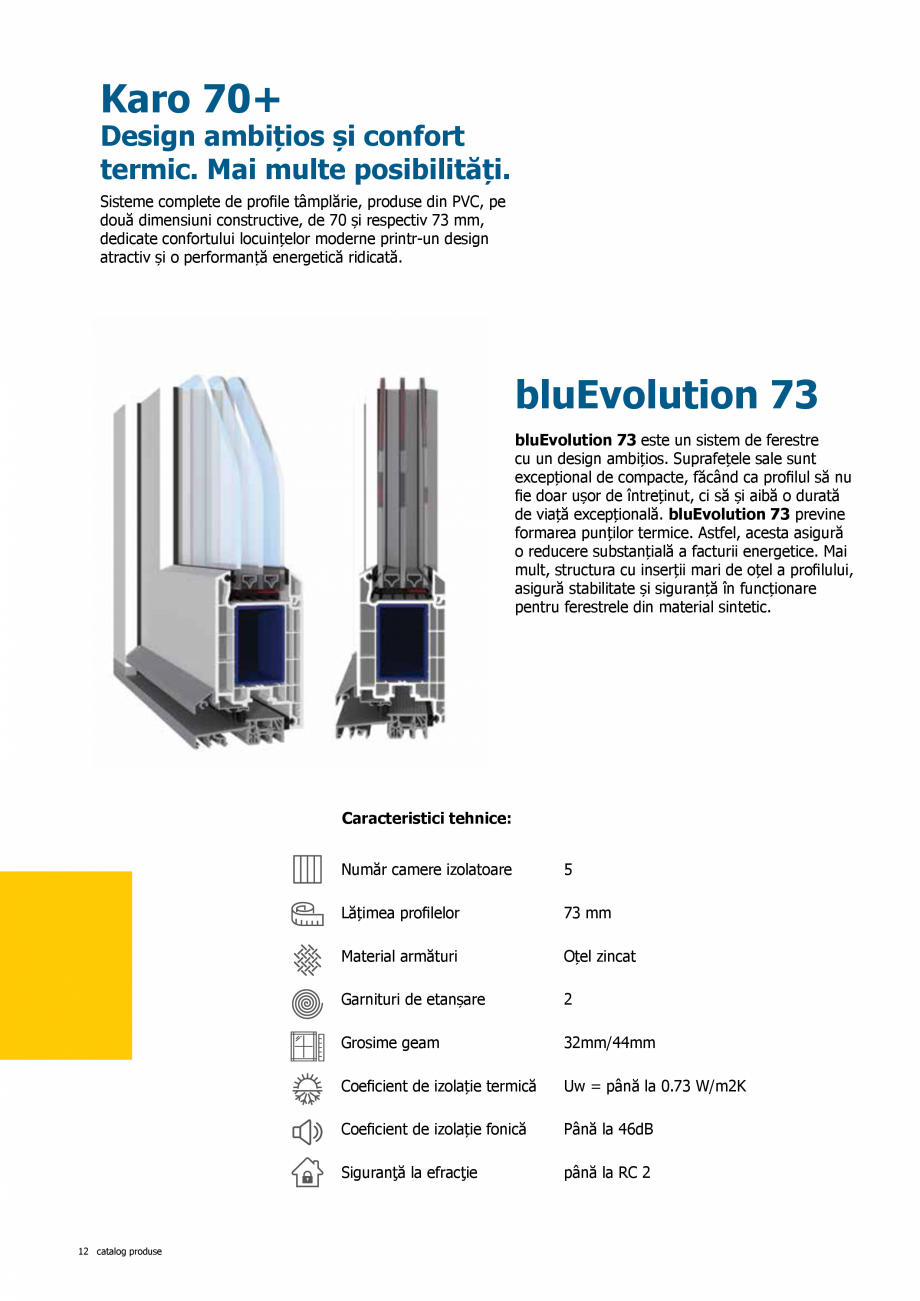 Pagina 12 - Catalog de produse TeraGlass 2020  Catalog, brosura Romana nice:  Număr camere...
