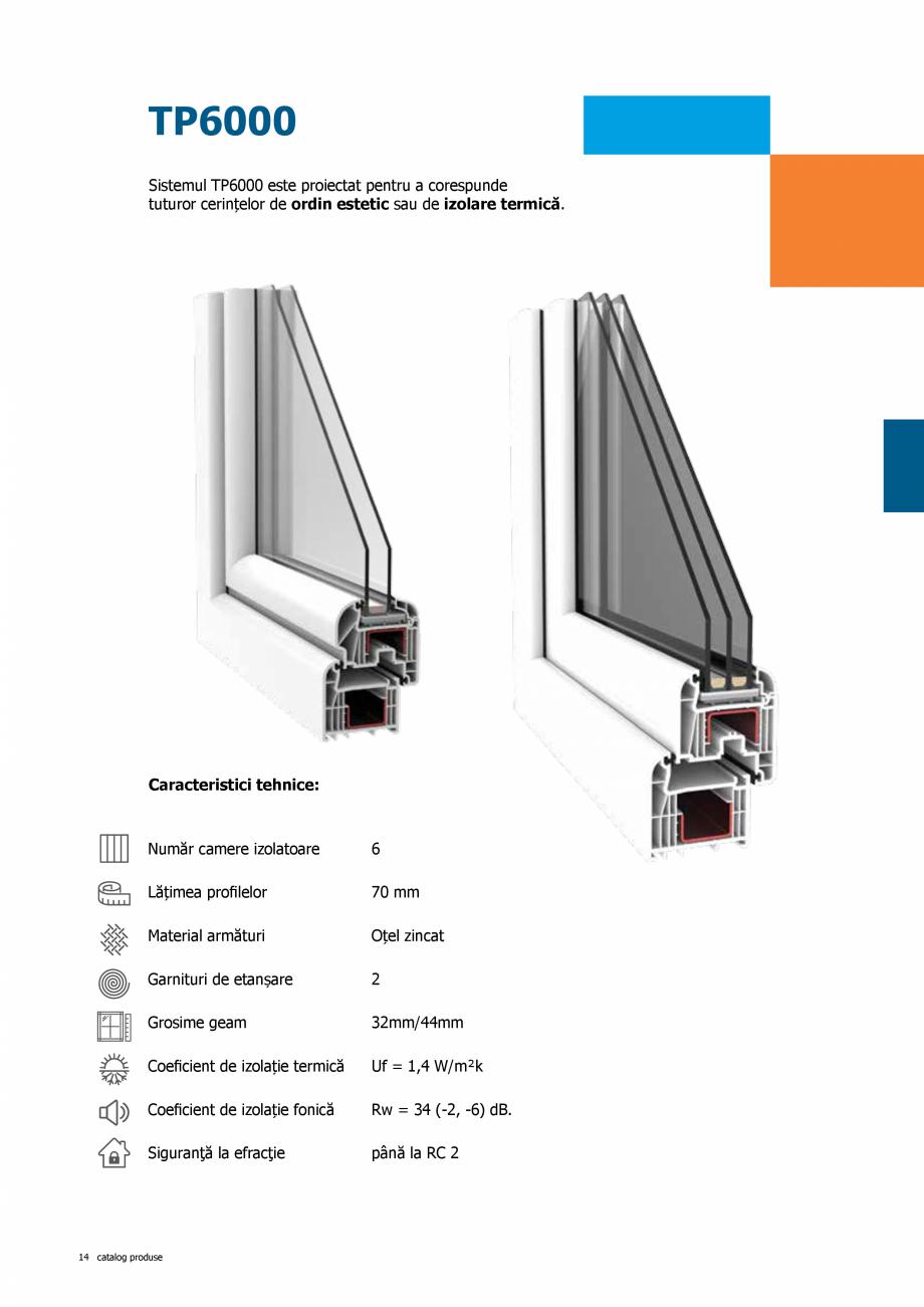 Pagina 14 - Catalog de produse TeraGlass 2020  Catalog, brosura Romana m ■ permite placare cu...