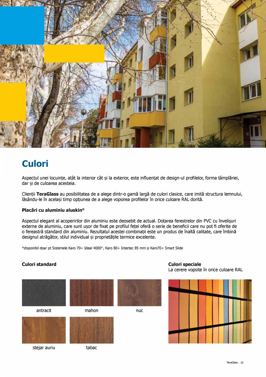 Pagina 15 - Catalog de produse TeraGlass 2020  Catalog, brosura Romana  de punte termică. ...