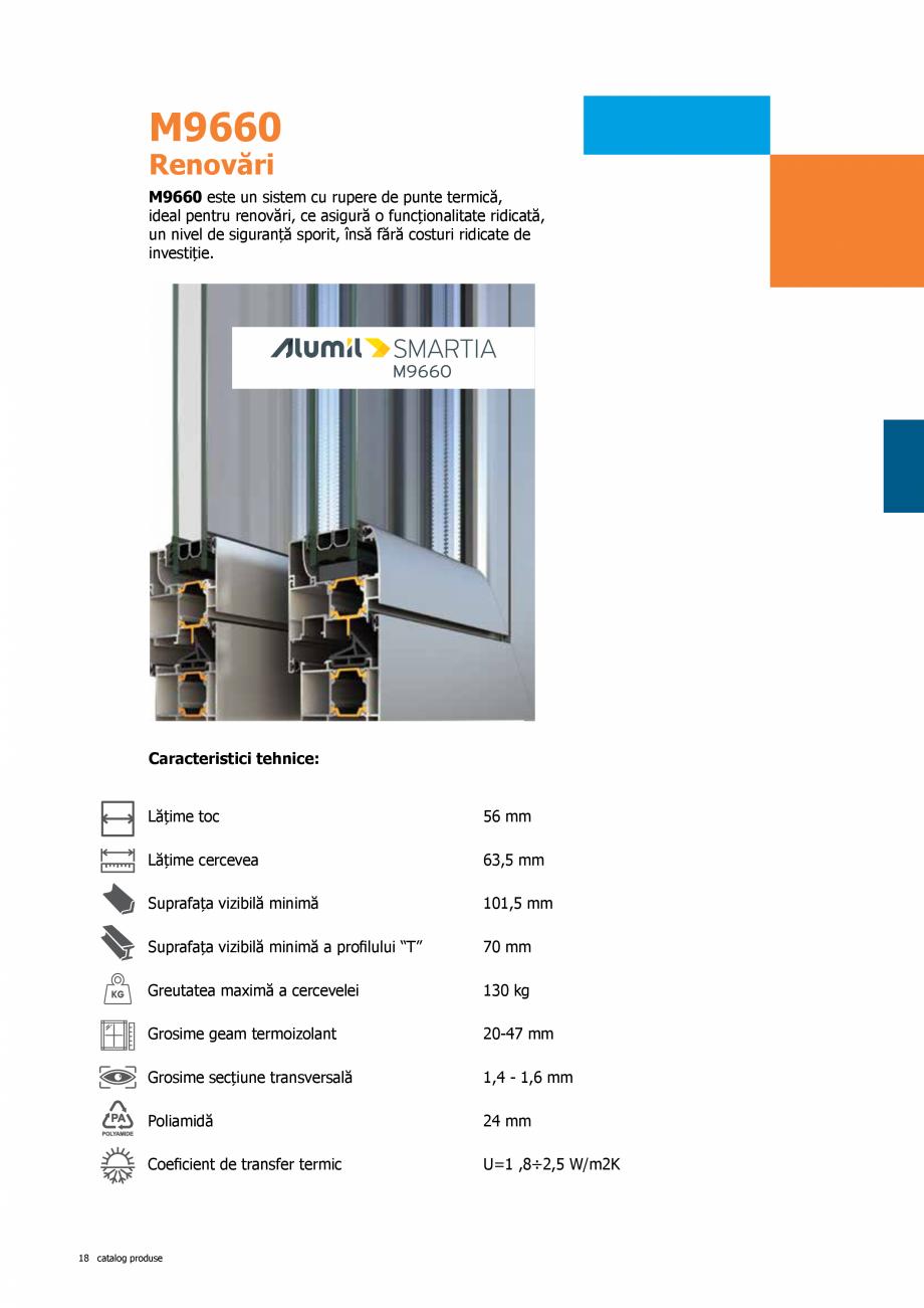 Pagina 18 - Catalog de produse TeraGlass 2020  Catalog, brosura Romana ine vorba despre culori, ne...