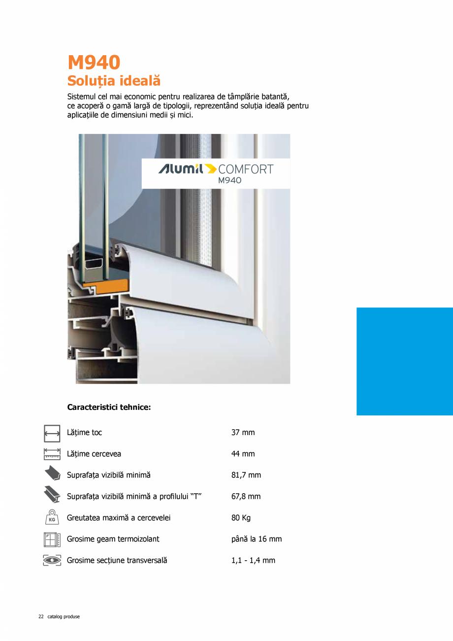 Pagina 22 - Catalog de produse TeraGlass 2020  Catalog, brosura Romana nterioare de plastic asupra...