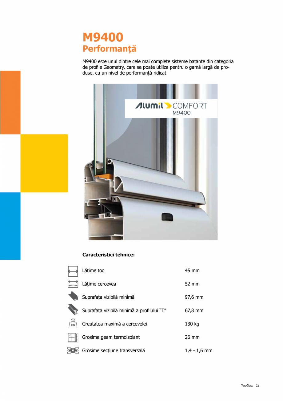 Pagina 23 - Catalog de produse TeraGlass 2020  Catalog, brosura Romana d  Screen  TeraGlass 31 ...