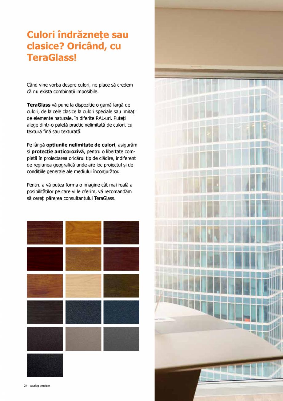 Pagina 24 - Catalog de produse TeraGlass 2020  Catalog, brosura Romana ereastră simplă și una cu ...