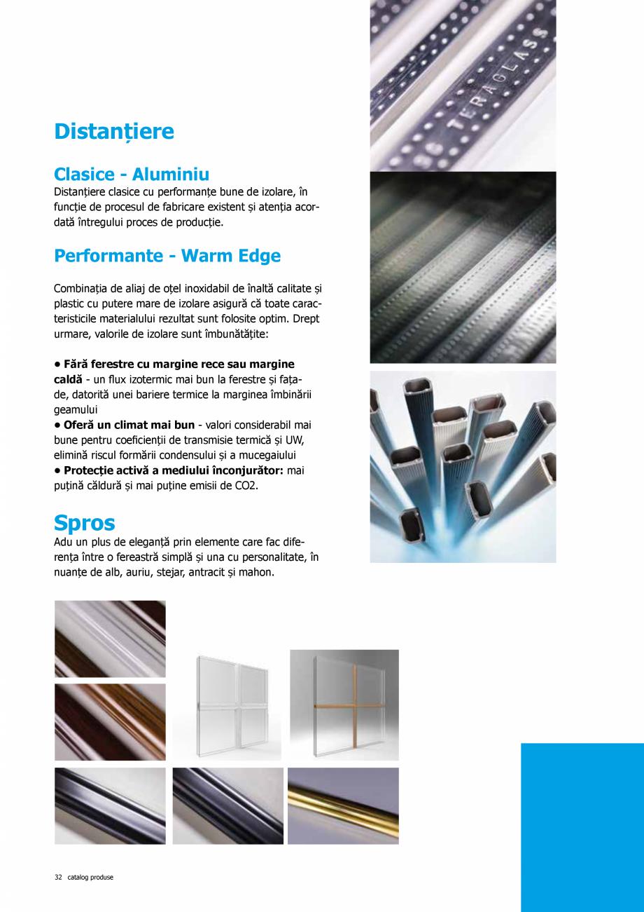 Pagina 32 - Catalog de produse TeraGlass 2020  Catalog, brosura Romana ate maximă a cercevelei  ...
