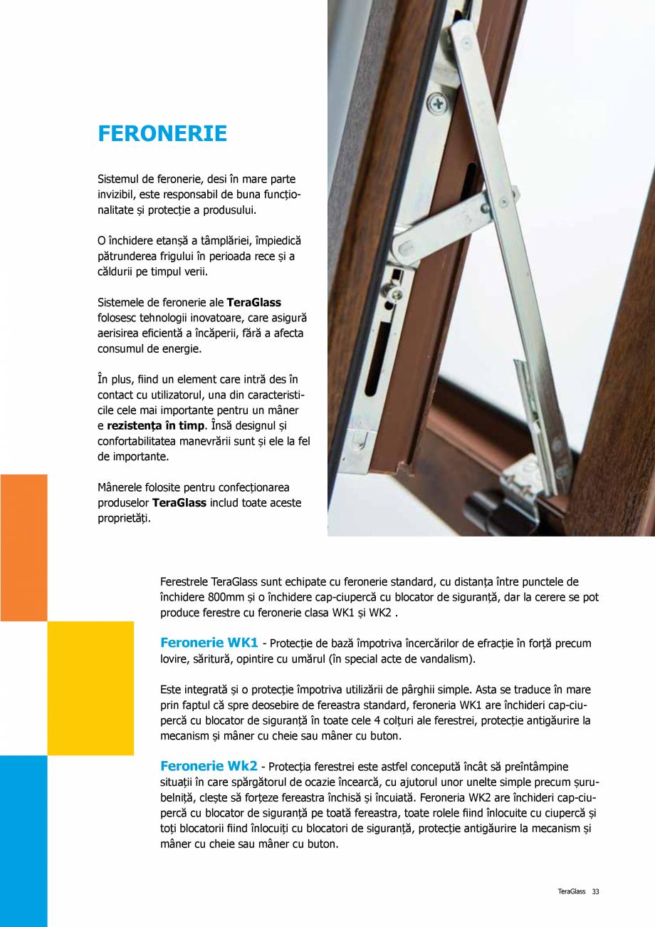 Pagina 33 - Catalog de produse TeraGlass 2020  Catalog, brosura Romana lor mai avansate sisteme de...