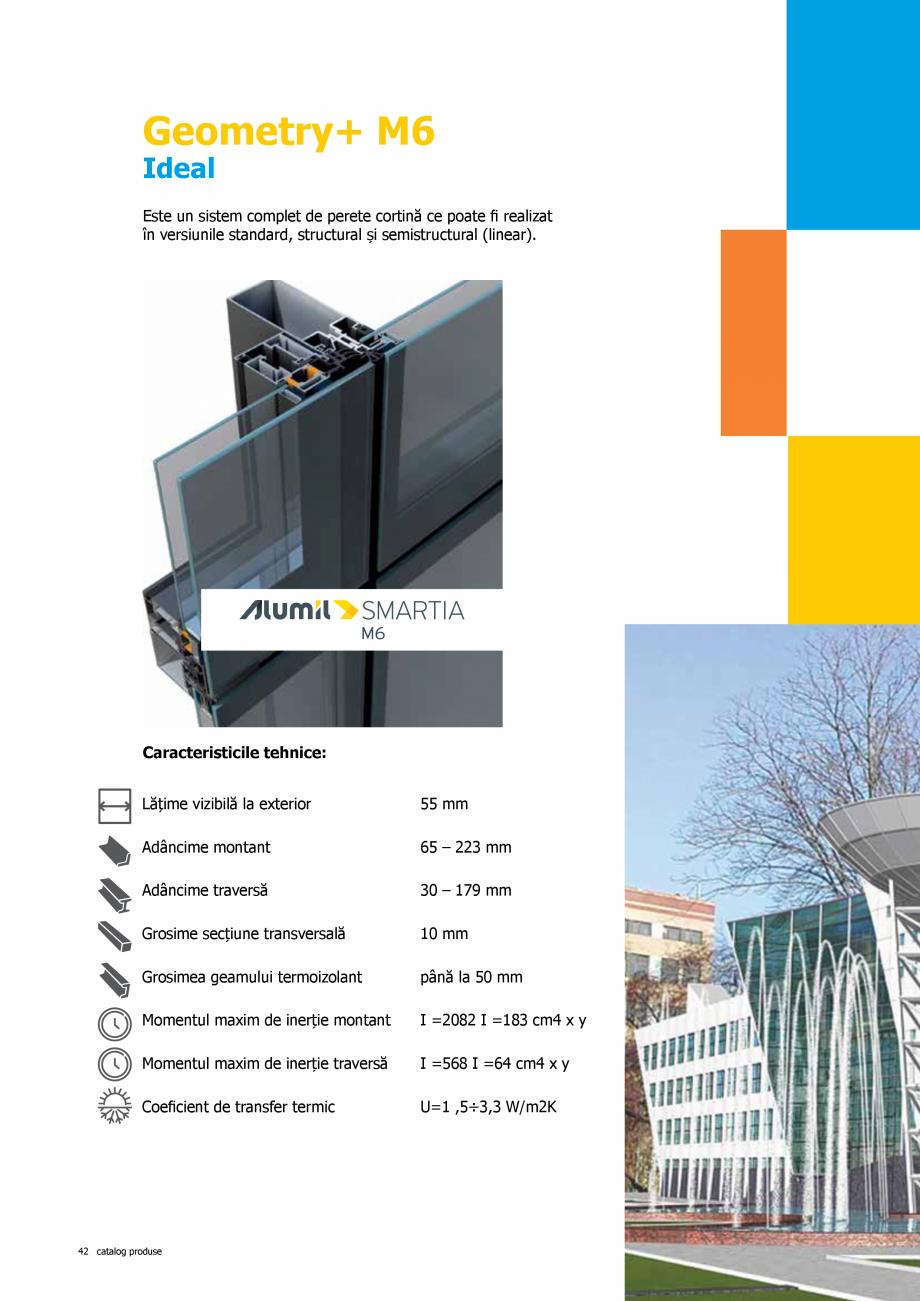 "Pagina 42 - Catalog de produse TeraGlass 2020  Catalog, brosura Romana  Industriale ""Drive in""  ..."