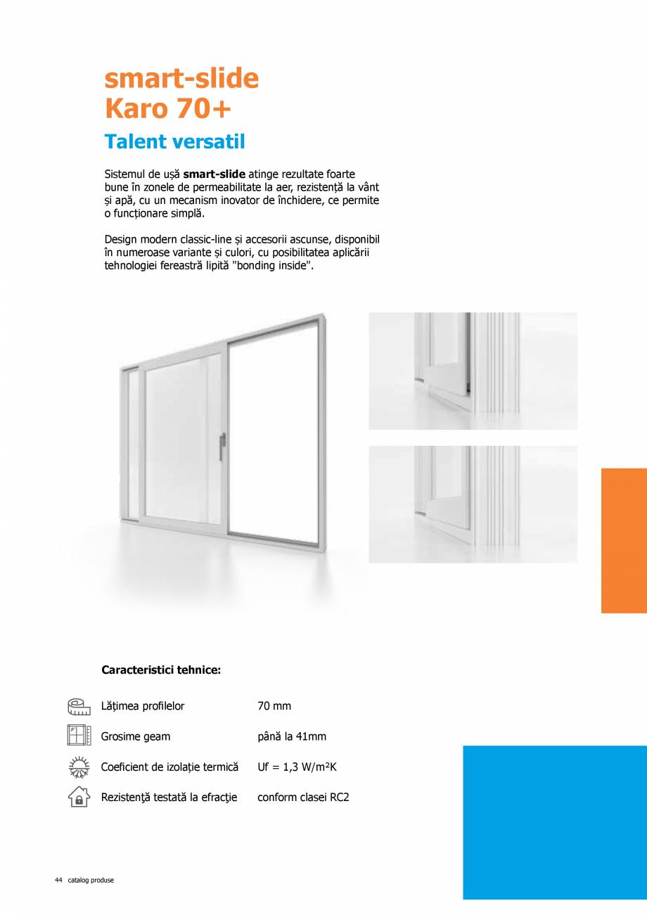 Pagina 44 - Catalog de produse TeraGlass 2020  Catalog, brosura Romana re prestigiosul Institut IFT ...