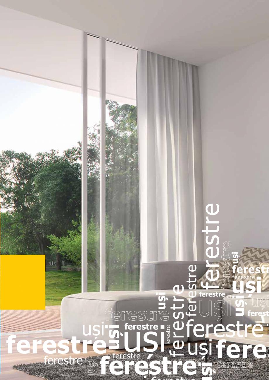 Pagina 45 - Catalog de produse TeraGlass 2020  Catalog, brosura Romana erformant tip de montaj,...