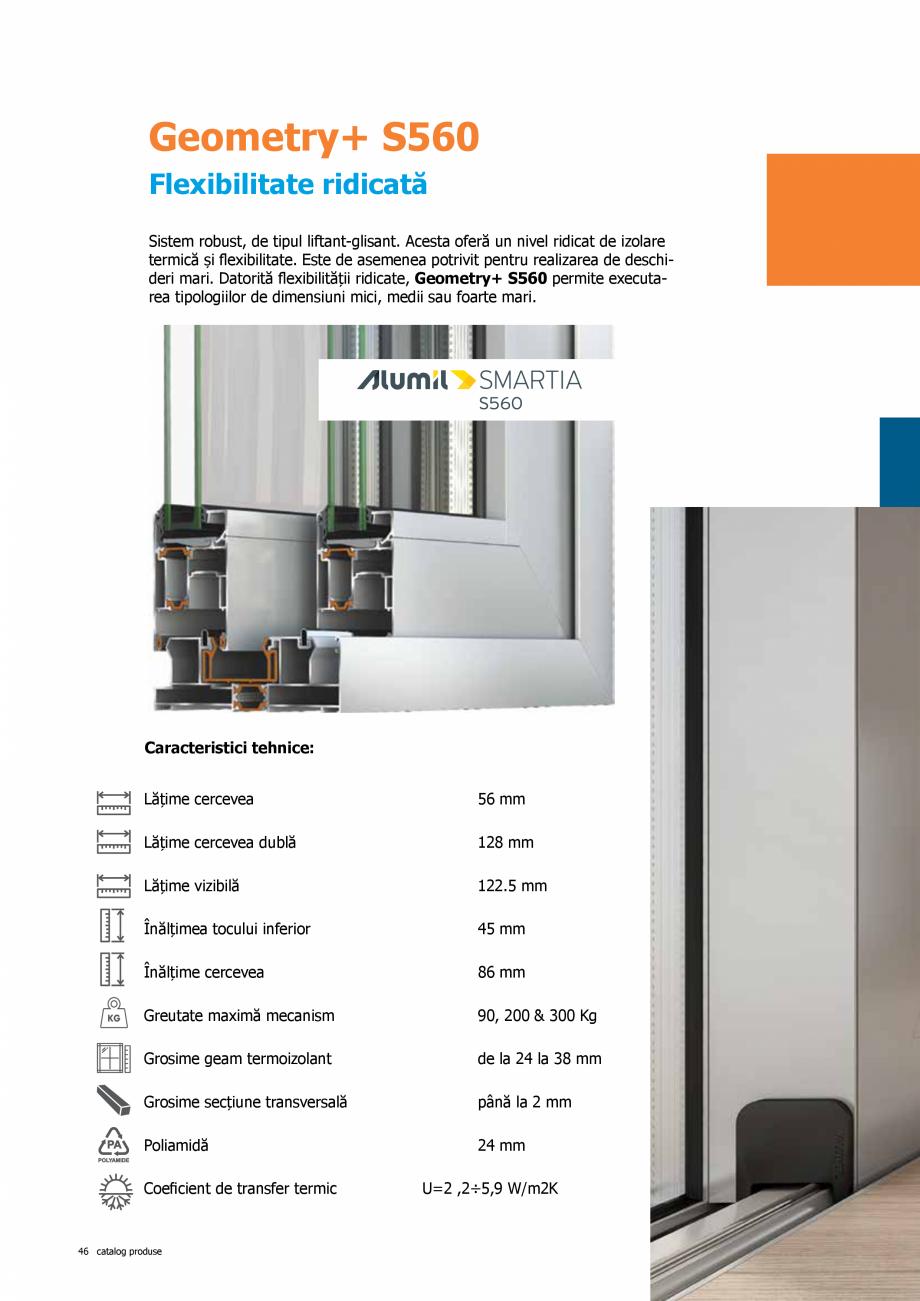Pagina 46 - Catalog de produse TeraGlass 2020  Catalog, brosura Romana