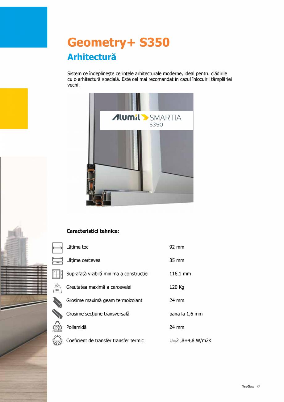 Pagina 47 - Catalog de produse TeraGlass 2020  Catalog, brosura Romana
