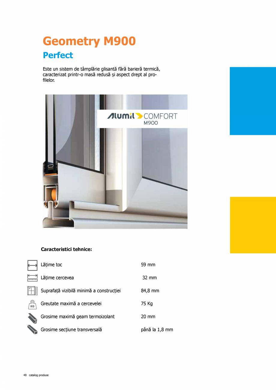 Pagina 48 - Catalog de produse TeraGlass 2020  Catalog, brosura Romana