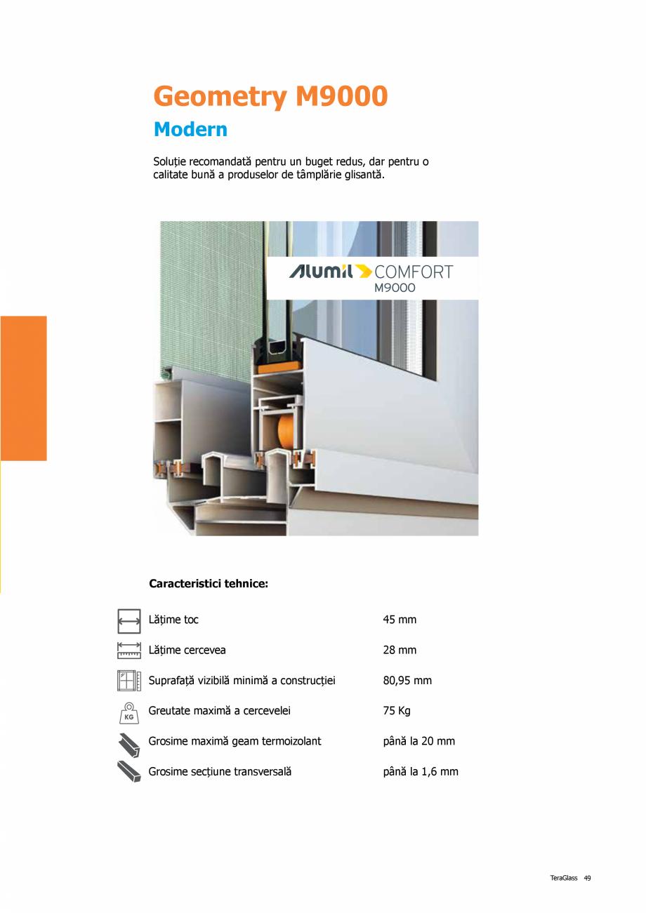 Pagina 49 - Catalog de produse TeraGlass 2020  Catalog, brosura Romana
