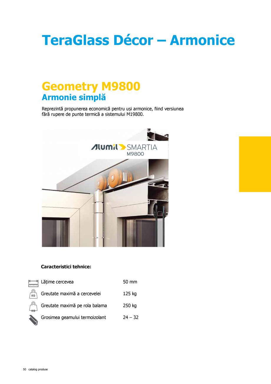 Pagina 50 - Catalog de produse TeraGlass 2020  Catalog, brosura Romana