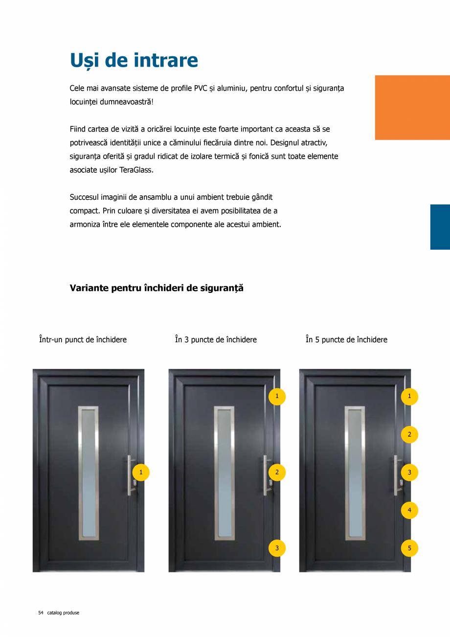 Pagina 54 - Catalog de produse TeraGlass 2020  Catalog, brosura Romana
