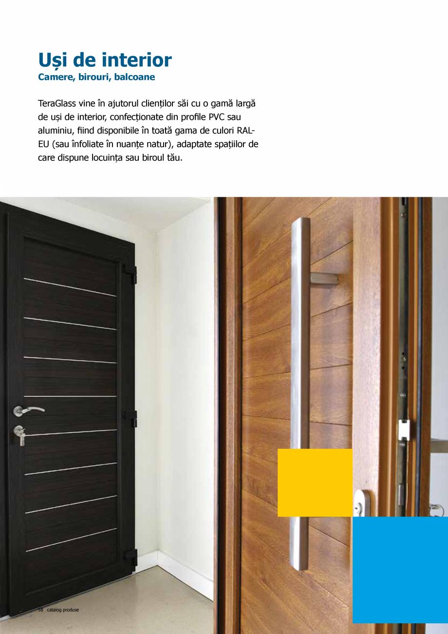Pagina 58 - Catalog de produse TeraGlass 2020  Catalog, brosura Romana