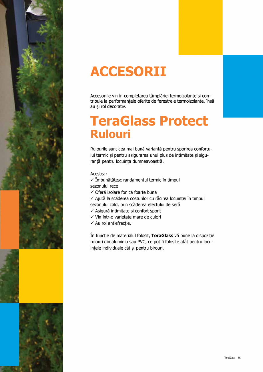 Pagina 65 - Catalog de produse TeraGlass 2020  Catalog, brosura Romana