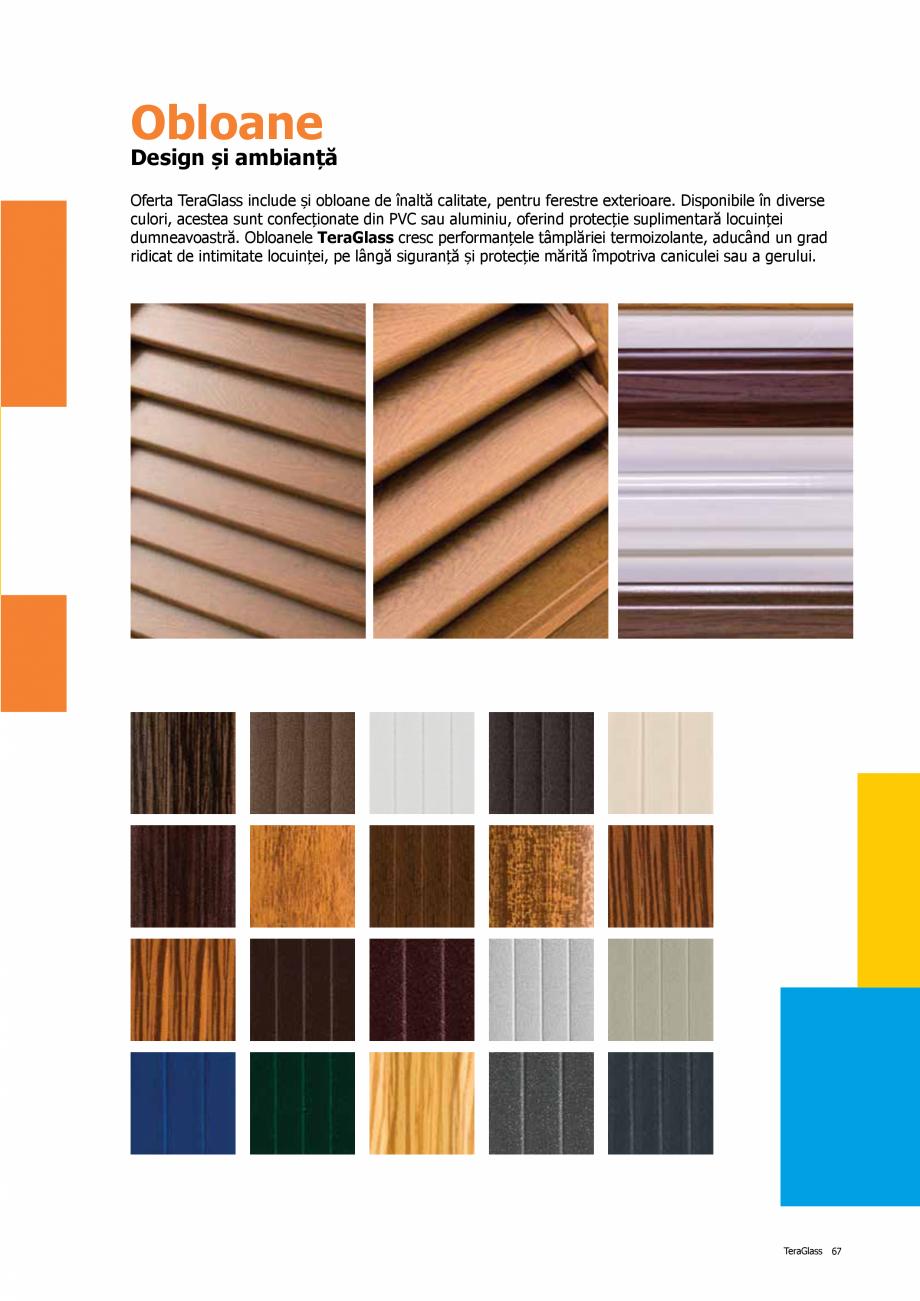 Pagina 67 - Catalog de produse TeraGlass 2020  Catalog, brosura Romana
