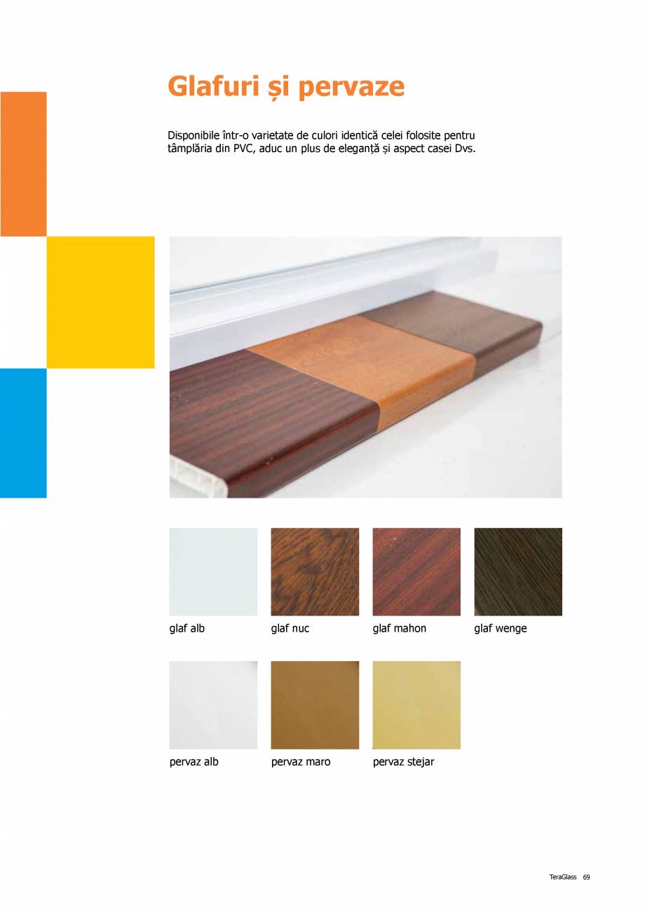 Pagina 69 - Catalog de produse TeraGlass 2020  Catalog, brosura Romana