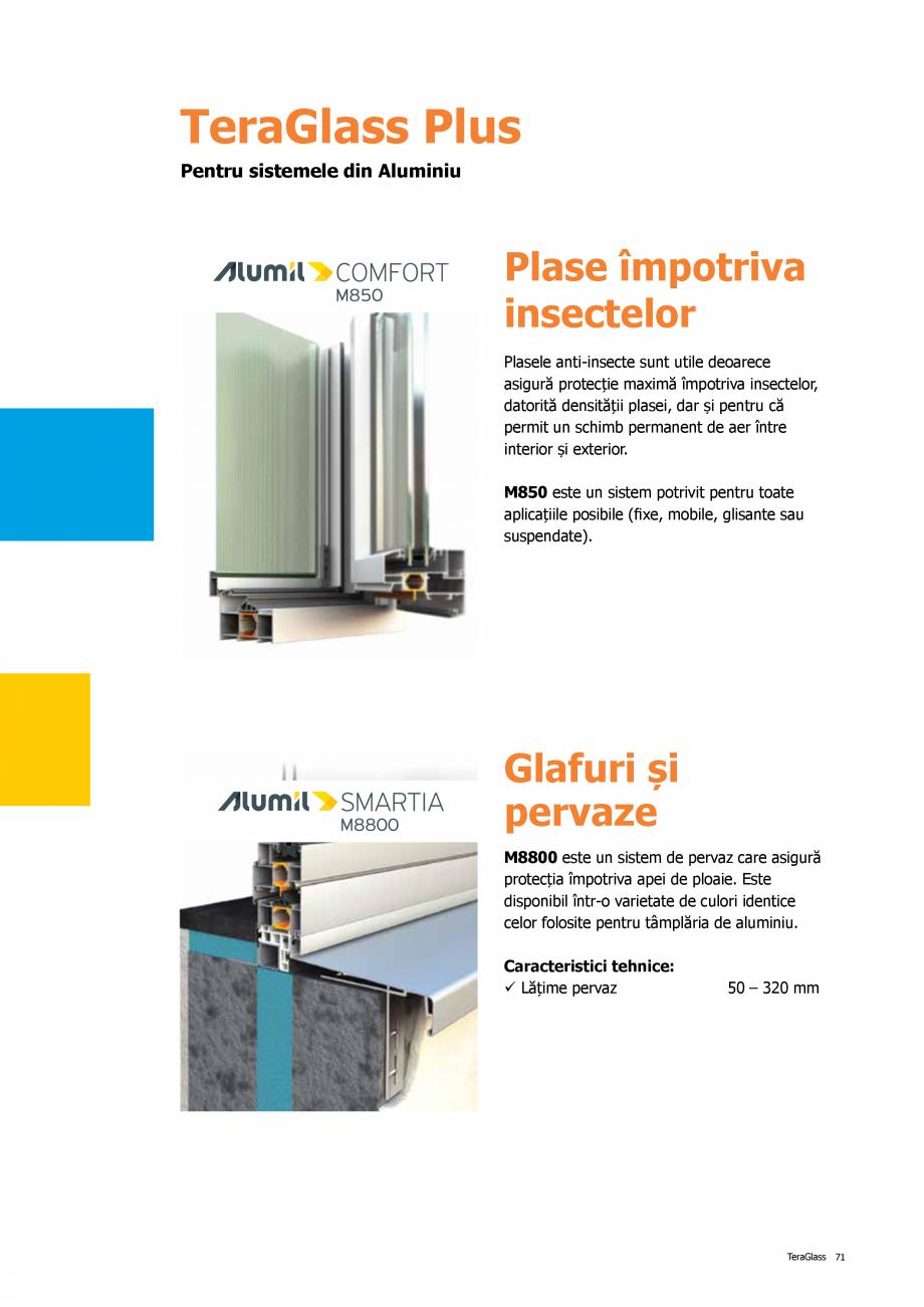 Pagina 71 - Catalog de produse TeraGlass 2020  Catalog, brosura Romana