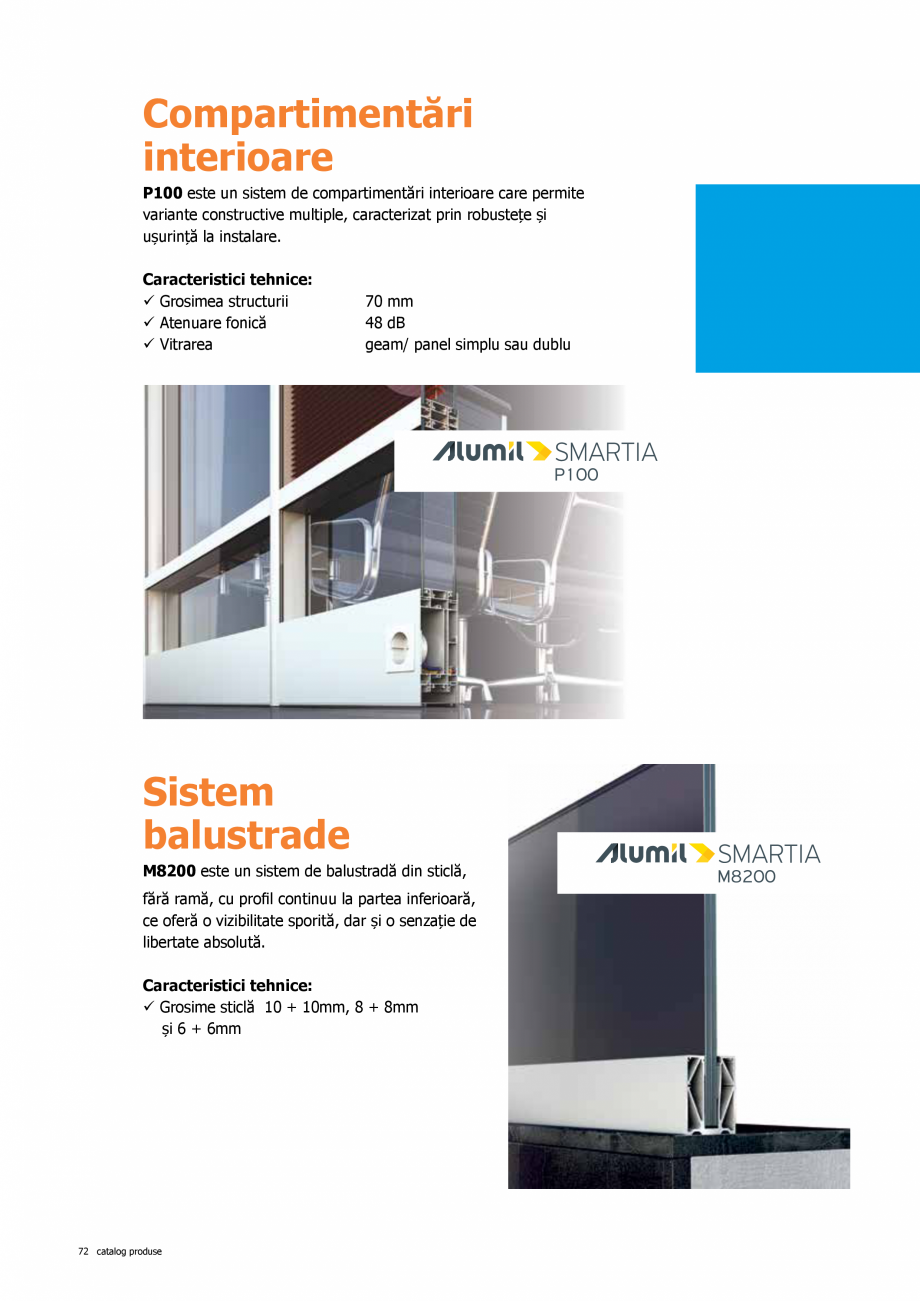Pagina 72 - Catalog de produse TeraGlass 2020  Catalog, brosura Romana