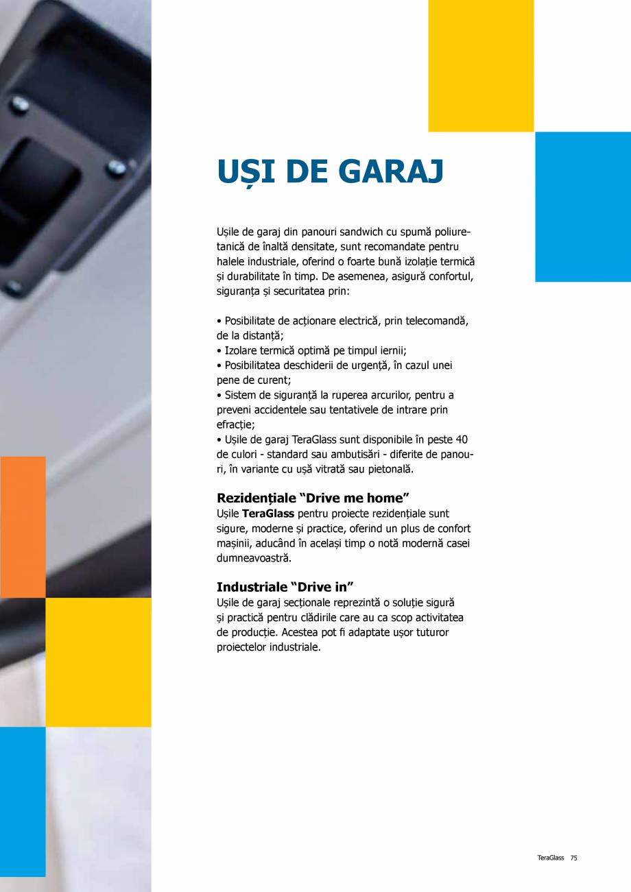 Pagina 75 - Catalog de produse TeraGlass 2020  Catalog, brosura Romana