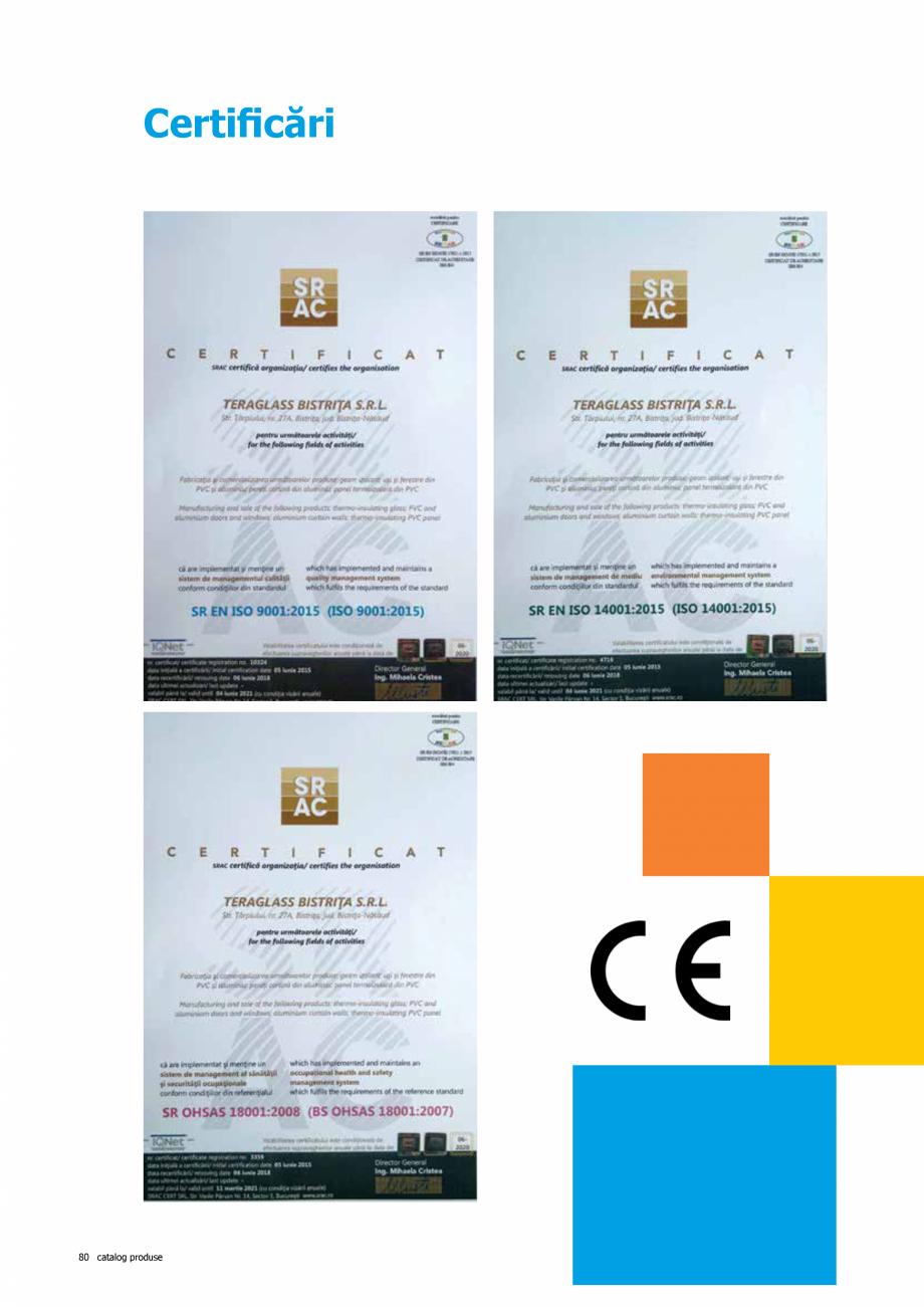 Pagina 80 - Catalog de produse TeraGlass 2020  Catalog, brosura Romana