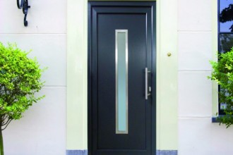 Uși de exterior din profile de PVC TeraGlass